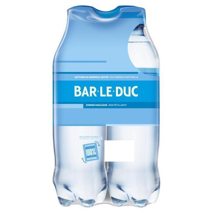 Bar-le-Duc Mineraal water koolzuurvrij (4 × 0.5L)