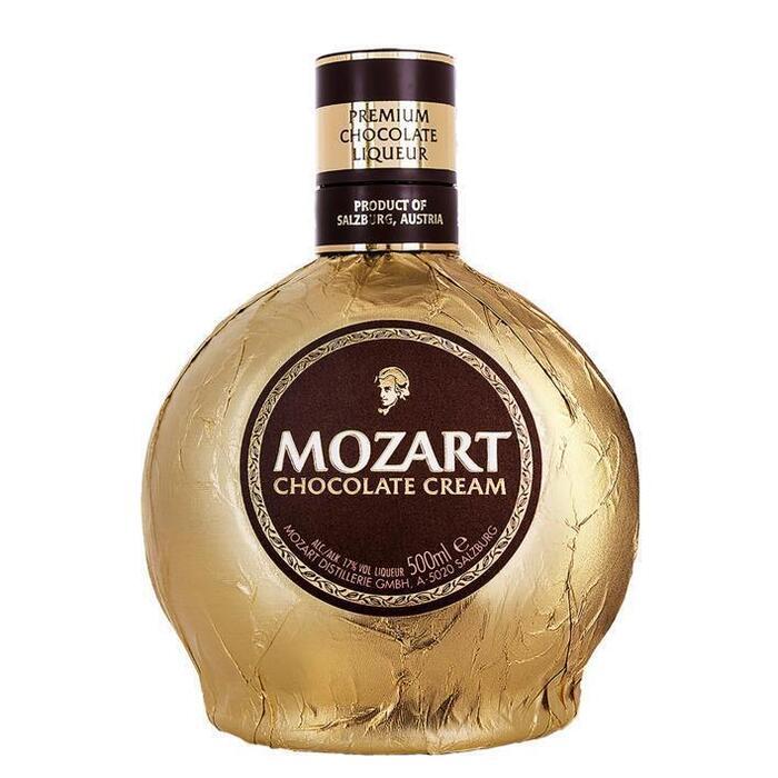 Mozart Chocolate cream gold (rol, 50 × 0.5L)