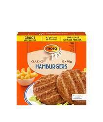 Hamburgers (12 Stuks) (Stuk, 70g)