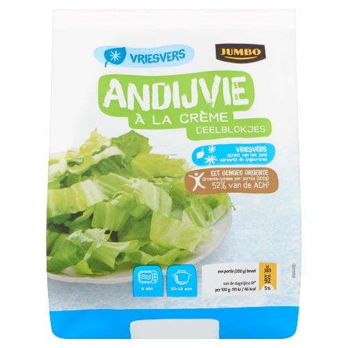 Jumbo Andijvie à la Crème Deelblokjes Vriesvers 450 g (450g)