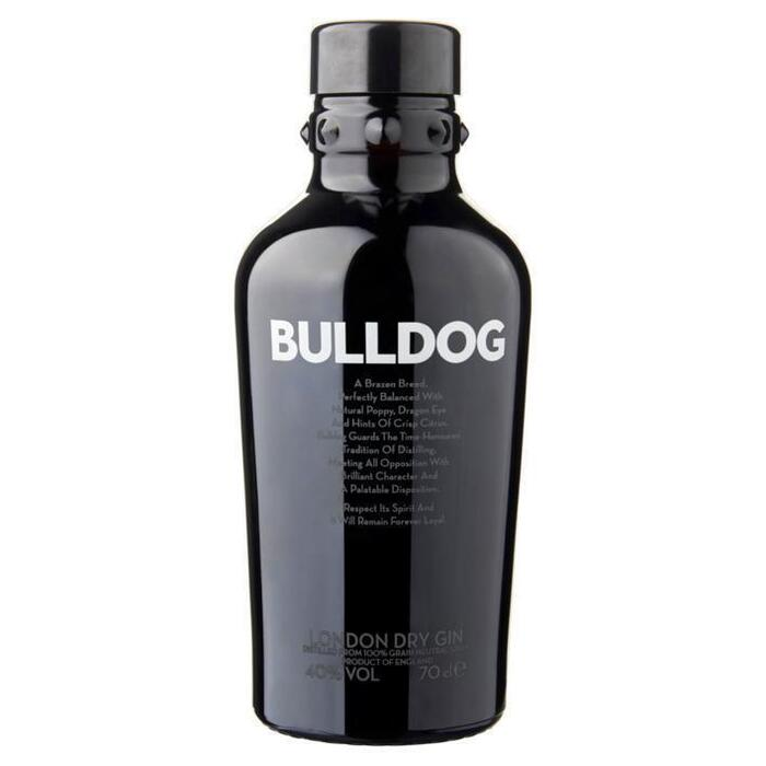 Bulldog London dry gin (rol, 0.7L)