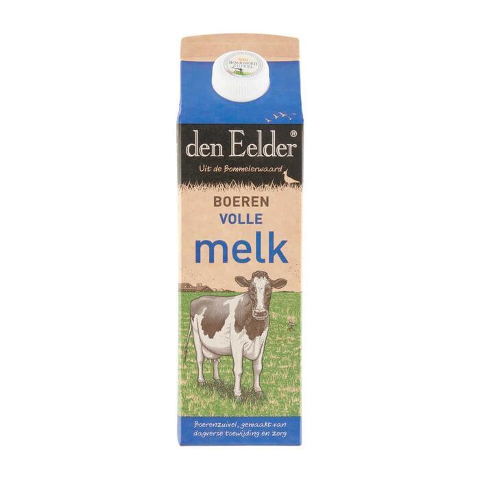 den Echte Boeren Volle Melk (pak, 1L)