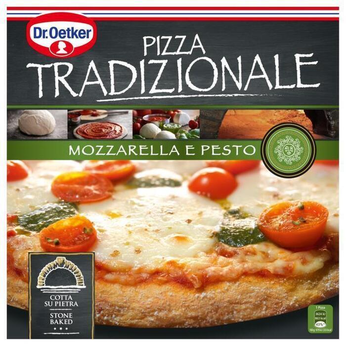 Tradizionale Mozzarella e Pesto (Stuk, 370g)
