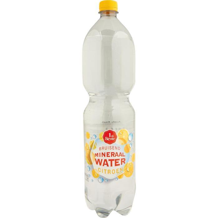 Bruisend mineraalwater citroen (1.5L)
