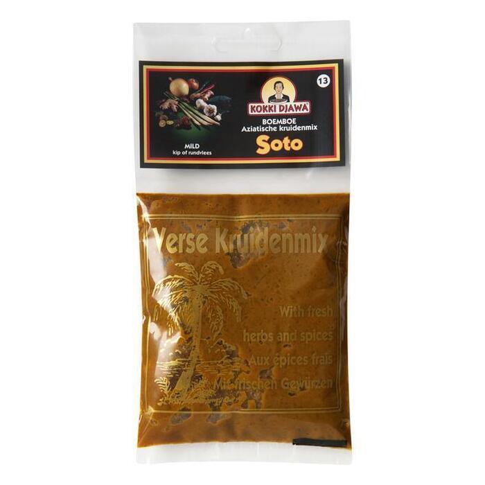 Aziatische Kruidenmix voor Soto (zak, 100g)