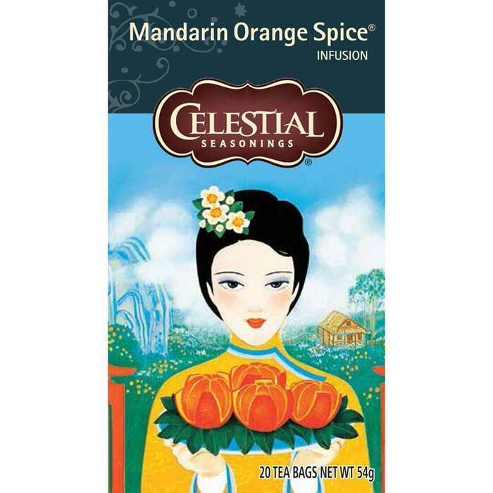 Celestial Seasonings Mandarin Orange Spice Infusion 20 Stuks 54g (20 × 54g)