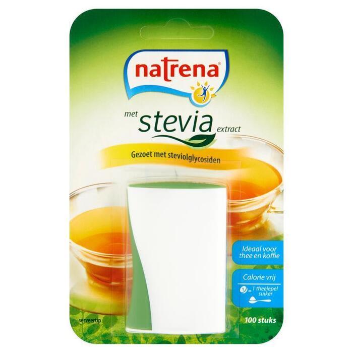 Natrena Stevia Zoetjes 100 stuks (blister, 100 × 6.4g)