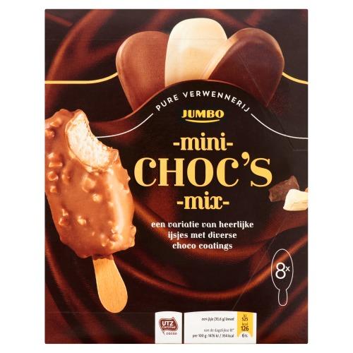 Jumbo Mini Choc's Mix 8 Stuks 285 g (285g)