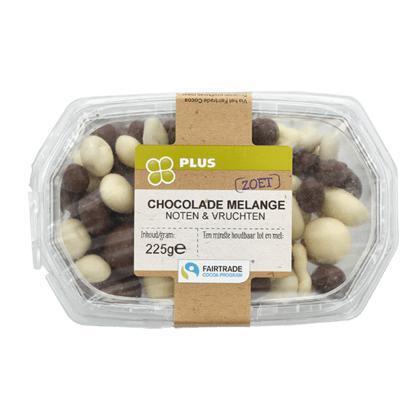Chocolade melange Fairtrade (225g)