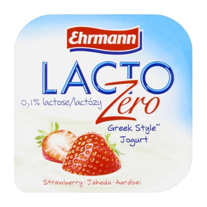 Ehrmann Lacto zero yoghurt Griekse stijl - diverse smaken (135g)
