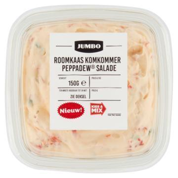 Jumbo Roomkaas Komkommer Peppadew Salade 150 g (150g)
