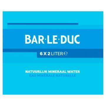 Bar-le-Duc Mineraalwater (6 × 2L)