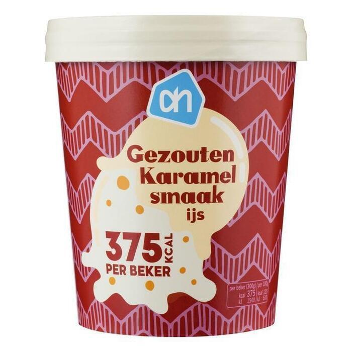 AH Gezouten karamel ijs (0.5L)