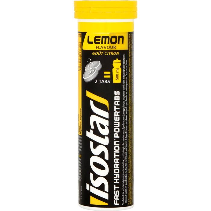 Isostar Fast hydration powertabs lemon (10 × 120g)