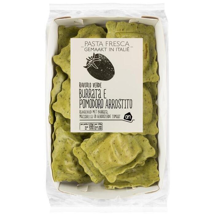 AH Pasta fresca ravioli burata pomodoro (250g)