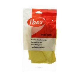 Huishoudhandschoen geel medium