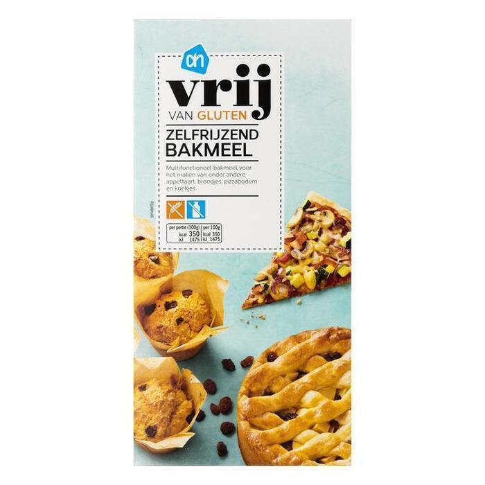 AH Vrij van gluten zelfrijzend bakmeel (doos, 450g)