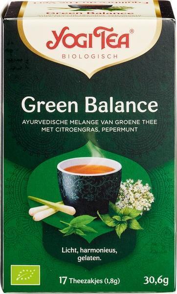 Green Balance Biologische Groene Thee (17 zakjes) (builtje, 1.8g)