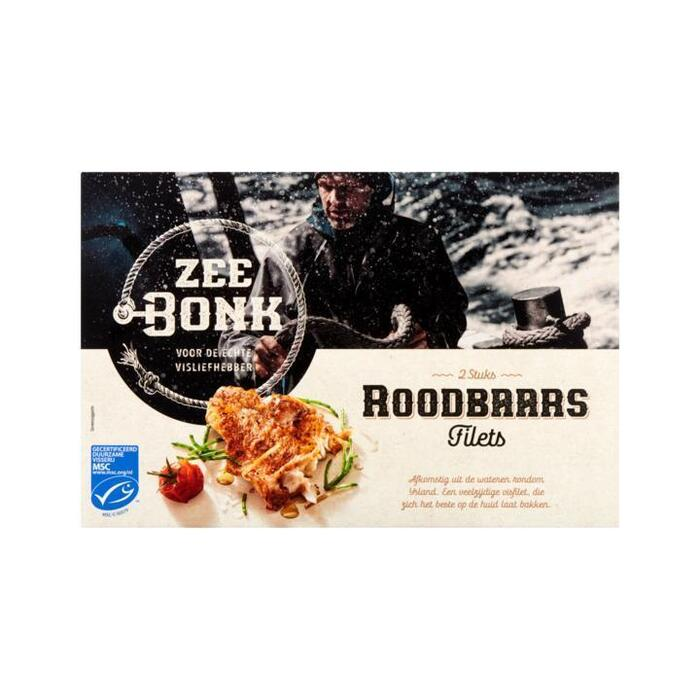 Zeebonk Roodbaars Filets 2 Stuks 270 g (270g)