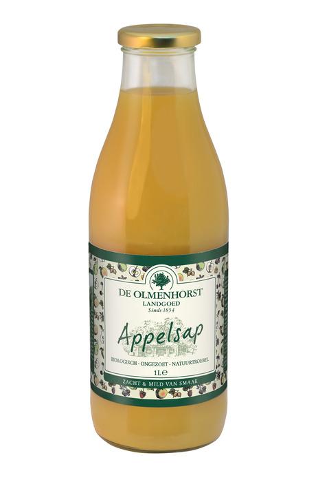 Appelsap (glas, 1L)