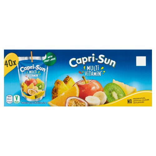 Capri-Sun Multivitamin Stevia Pouch 0.2L 40x (200ml)