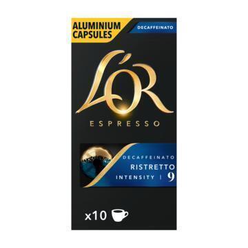 L'or ESPRESSO Ristretto Decaffeinato Koffiecapsules 10 Stuks (52g)