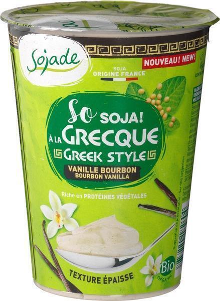 Yoghurt Greek style vanille (400g)