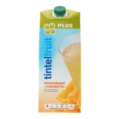Tintelfruit sinaasappel mandarijn (rol, 1.5L)