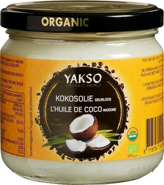 Kokosolie geurloos (32cl)