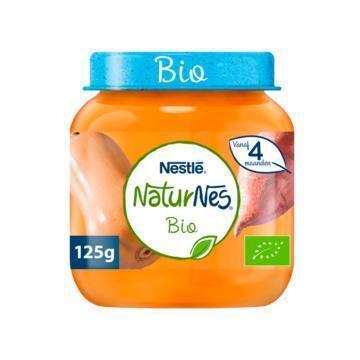 NaturNes Pompoen zoete aardappel 4+ m babyvoeding (125g)