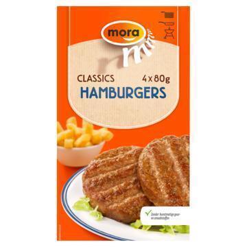 Mora Classics Hamburgers (4 × 80g)