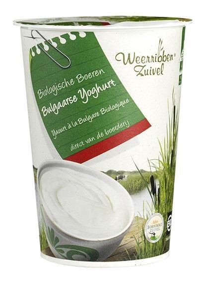 Bulgaarse yoghurt (bak, 0.5L)