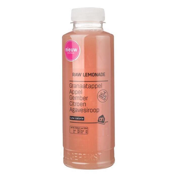 AH Raw lemonade granaatappel gember (0.5L)