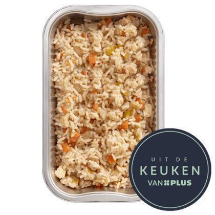 Nasi met kip (300g)