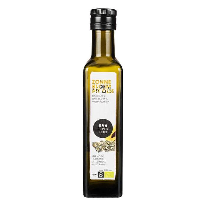 Raw Organic Food Zonnebloempitolie (250ml)