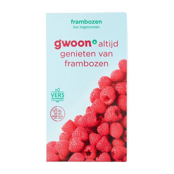 g'woon Frambozen (250g)