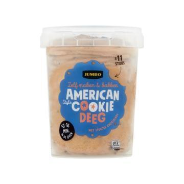Jumbo American Style Cookie Deeg 500 g (500g)