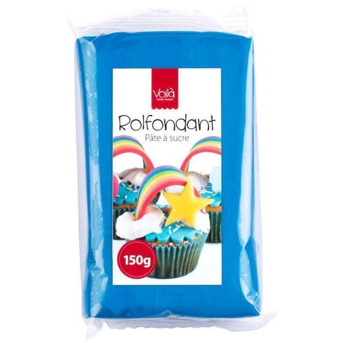 Voila Rolfondant blauw (150g)