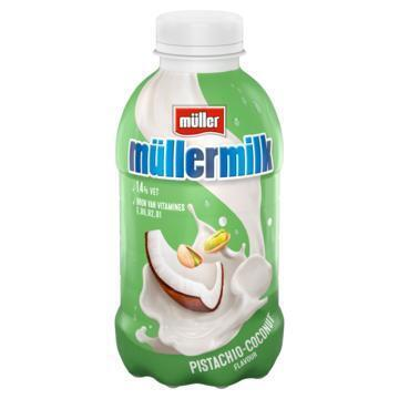 Müllermilk Pistachie-Kokosnoot 376 ml (37.7cl)