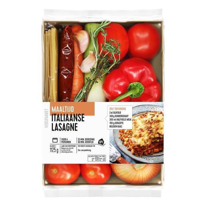 AH Italiaanse lasagne verspakket (1.2kg)