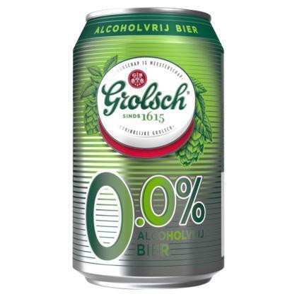 Grolsch 0.0 Blik (rol, 33 × 1.98L)