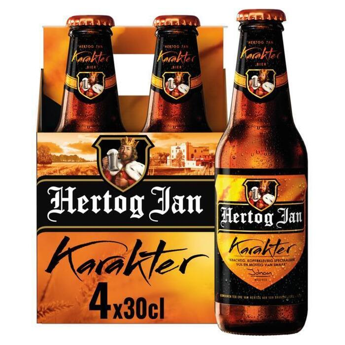 Hertog Jan Karakter Flessen 4 x 30 cl (rol, 4 × 30cl)
