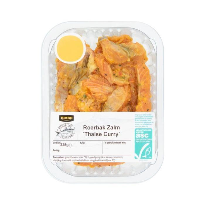 Jumbo Verse Vis Roerbak Zalm Thaise Curry 225g (225g)