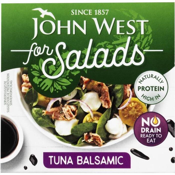 John West Tuna for salads balsamic (110g)