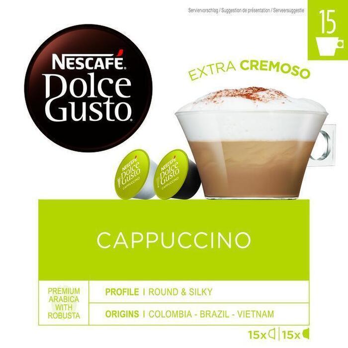 Nescafe Dolce Gusto Cappuccino 30 Capsules (350g)