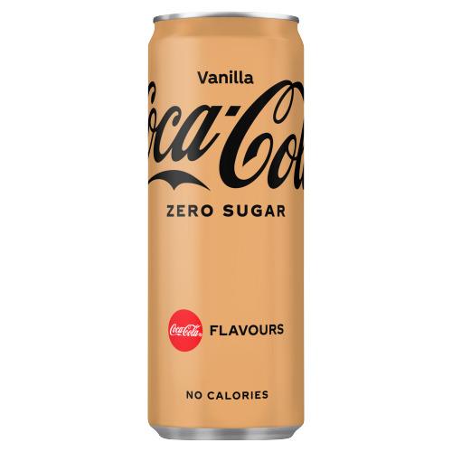 Coca-Cola Zero sugar vanilla (250ml)