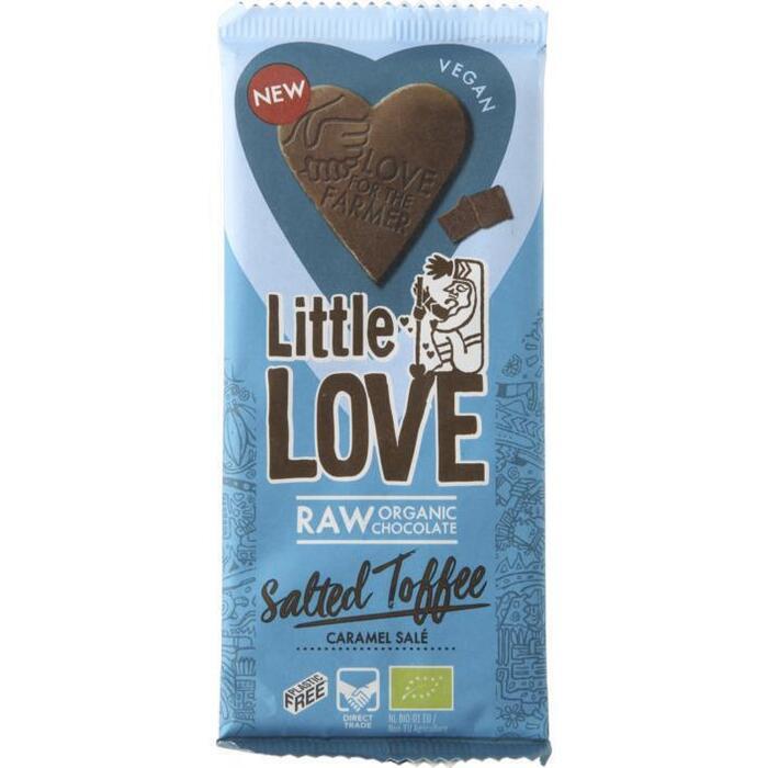 Little Love Salted toffee bio (65g)
