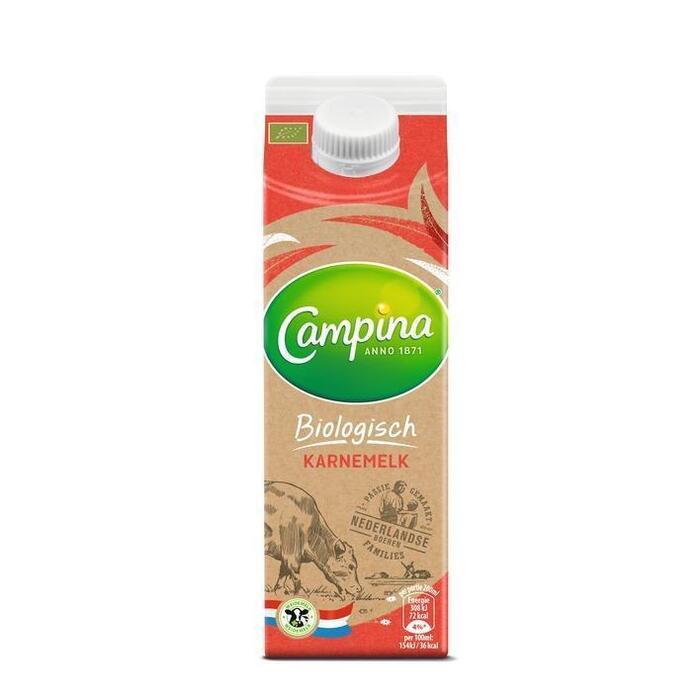Boer en Land Bio karnemelk (pak, 0.5L)