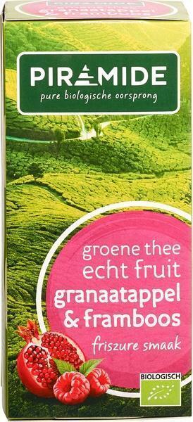 Groene thee granaatappel-framboos (20 st.)