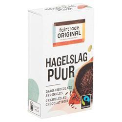 Chocolade hagelslag puur portieverpakking (doos, 15g)
